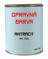 PREFA opravná barva 0,75l, Antracit