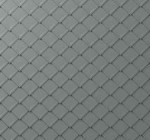 PREFA falcovaná šablona 29x29, povrch stucco, Světle šedá P.10