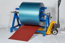 PREFA Prefalz hliníkový plech 0,70 x 650 mm - stucco - Cihlově červená P10