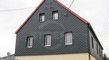 PREFA fasádní šablona malá 20x20, povrch stucco, Antracit P.10
