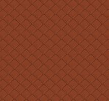 PREFA falcovaná šablona 29 x 29 - stucco - Cihlově červená P.10