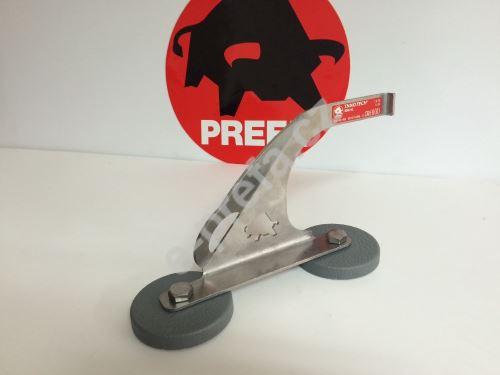 PREFA bezpečnostní hák na kruhových podložkách dle en 517 b, nerez ocel