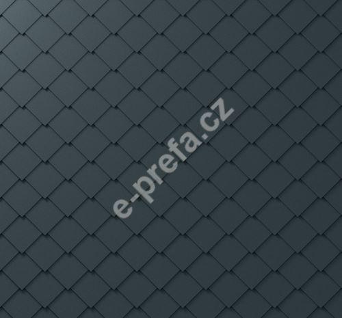 PREFA fasádní šablona 29x29, povrch stucco, Antracit P.10