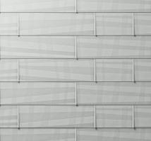 PREFA fasádní panel FX.12 VELKÝ - hladký - Přírodní hliník P.10