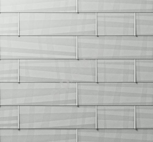 PREFA fasádní panel fx.12 velký, povrch hladký, Přírodní hliník P.10