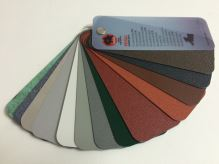 PREFA hliníkový plech Prefalz 0,70 x 1000 mm Tmavě červená P.10 stucco