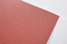 PREFA hliníkový plech Prefalz 0,70 x 650mm Tmavě červená P.10 stucco