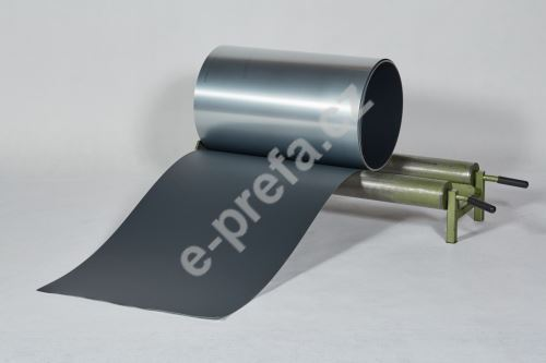 PREFA hliníkový plech Prefalz 0,70 x 650mm Antracit P.10, hladký