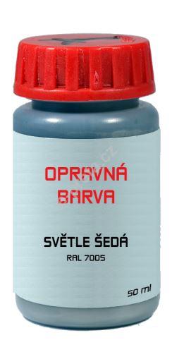 PREFA opravná barva tyčinka 50 ml - Světle šedá ~ RAL 7005