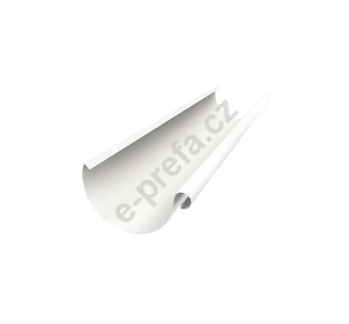 PREFA žlaby, okapy půlkulaté o délce 3m, 333mm