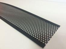 PREFA ochranná mřížka proti ptákům 125 x 2000 x 0,70 mm - Tmavě hnědá/Antracit