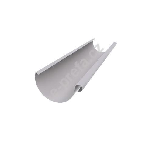 PREFA žlaby, okapy půlkulaté o délce 6m, 280mm