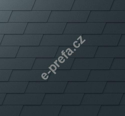 PREFA fasádní šindel xl, povrch stucco, Antracit P.10