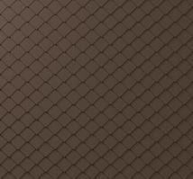 PREFA fasádní šablona malá 20 x 20 - stucco - Tmavě hnědá P.10