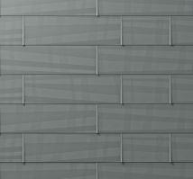 PREFA fasádní panel fx.12 velký, povrch hladký, Světle šedá P.10