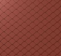 PREFA fasádní šablona 29x29, povrch stucco, Tmavě červená P.10