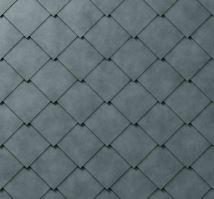 PREFA střešní šablona, 44 x 44 mm stucco, Břidlicová P.10