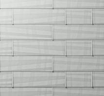PREFA fasádní panel fx.12 malý, povrch hladký, Přírodní hliník P.10