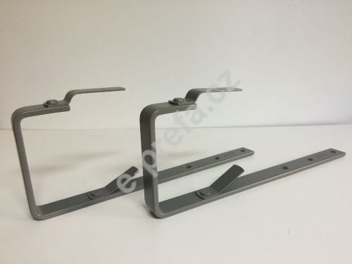 PREFA žlabové háky pro hranaté žlaby, 333 mm