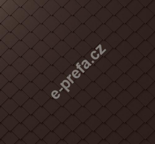 PREFA fasádní šablona 29x29, povrch stucco, Oříšková P.10