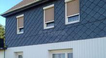 PREFA fasádní šablona 29x29, povrch stucco, Břidlicová P.10