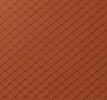 PREFA fasádní šablona malá 20 x 20 - stucco - Cihlově červená P.10