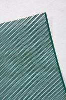 PREFA děrovaný hliníkový plech ve svitku 0,70 x 1000 mm, Světle šedá/Mechově zelená