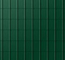 PREFA falcovaná taška, povrch stucco, Mechově zelená P.10