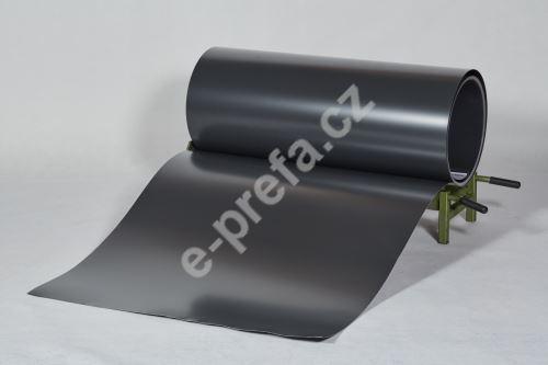 PREFA CLR plech ve svitku 0,7 x 1000 mm - Antracit / Antracit + folie