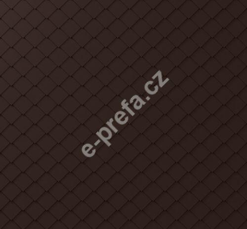 PREFA fasádní šablona malá 20x20, povrch stucco, Oříšková P.10