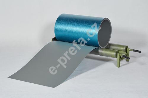 PREFA hliníkový plech Prefalz 0,70 x 650 mm Světle šedá P.10 stucco