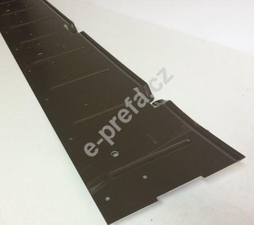 PREFA podkladní pás pro falcované tašky, předvrtaný, 1.806x150x1,20 mm