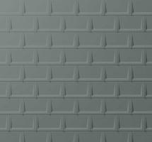 PREFA střešní panel r.16, 700 x 420 mm stucco, Světle šedá P.10