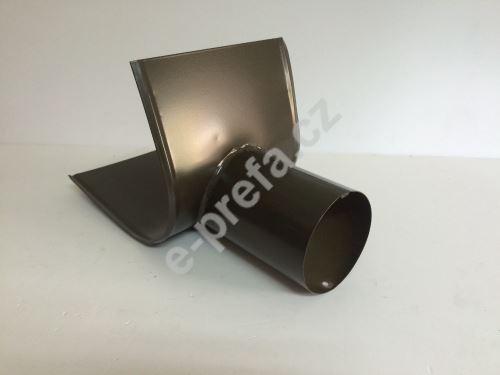 PREFA šikmé vyústění žlabu, 250, 280, 333 xø 80 mm