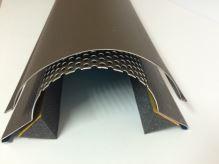 PREFA hřebenáč jet-lüfter stucco, dl. 3000 mm , tl. 1,00 mm, P.10