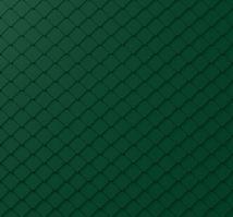 PREFA fasádní šablona malá 20 x 20 - stucco - Mechově zelená P.10