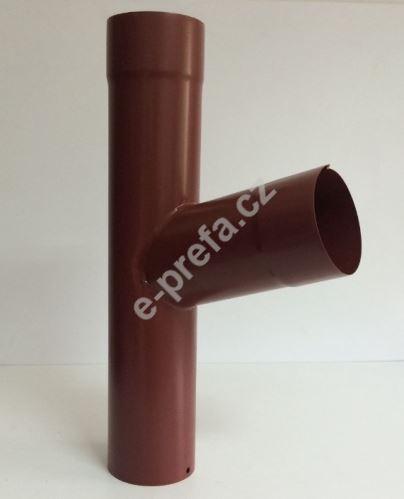 PREFA odbočka kruhových svodů, ø 100 x 80 mm