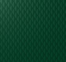 PREFA věžovka hladká a stucco, 305 x 175 mm, Mechově zelená P.10